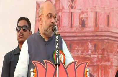 Mamata Banerjee supporting those who wish to divide India: Amit Shah