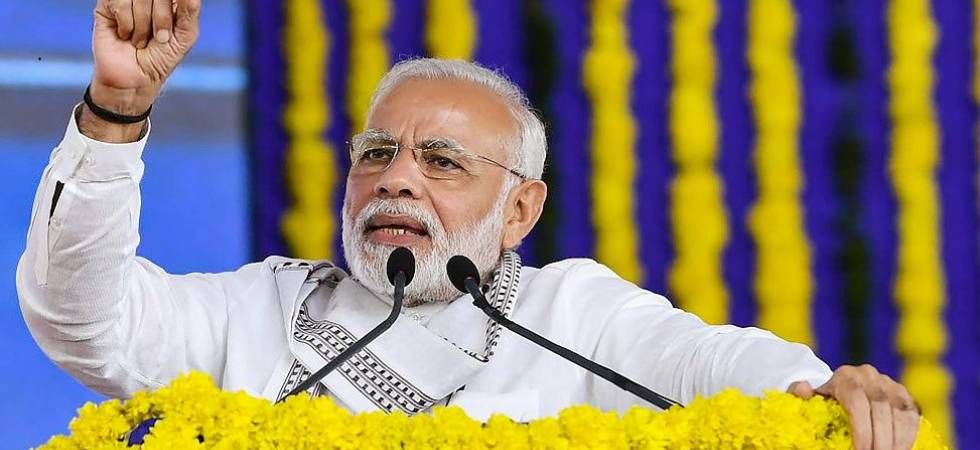 PM Modi's visit to the Ram Janmabhoomi is significant as many have accused the ruling BJP of not doing enough for the construction of a Ram temple at the disputed site of Ayodhya. (File photo)