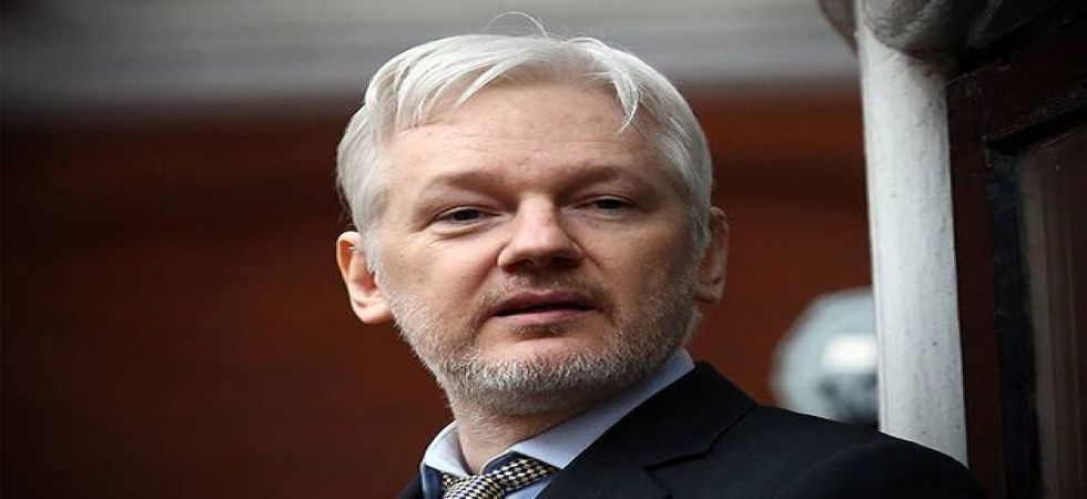 WikiLeaks founder Julian Assange faces sentencing over bail-jumping (file photo)