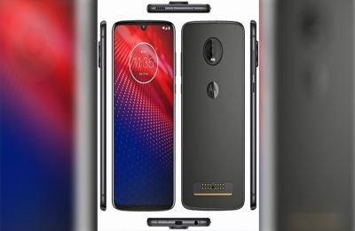 Moto Z4 leaked render reveals smartphone has waterdrop-style notch, Moto Mod support