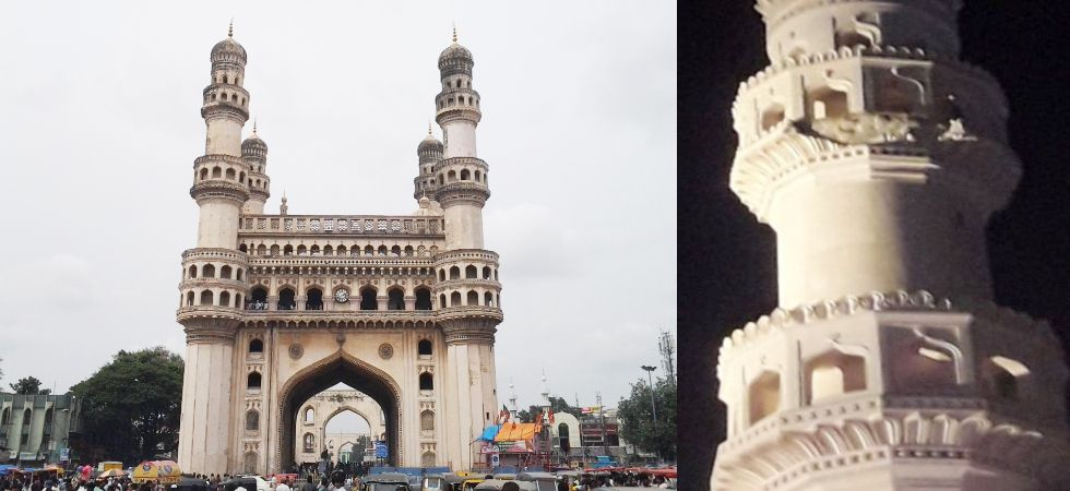 The Charminar was built in 1591 by Muhammad Quli Qutb Shah, the fifth ruler of the Qutb Shahi dynasty, also the founder of Hyderabad city. (Photo: Wikipedia)