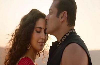 Check out the BTS of Salman Khan and Katrina Kaif's Chashni song from Bharat