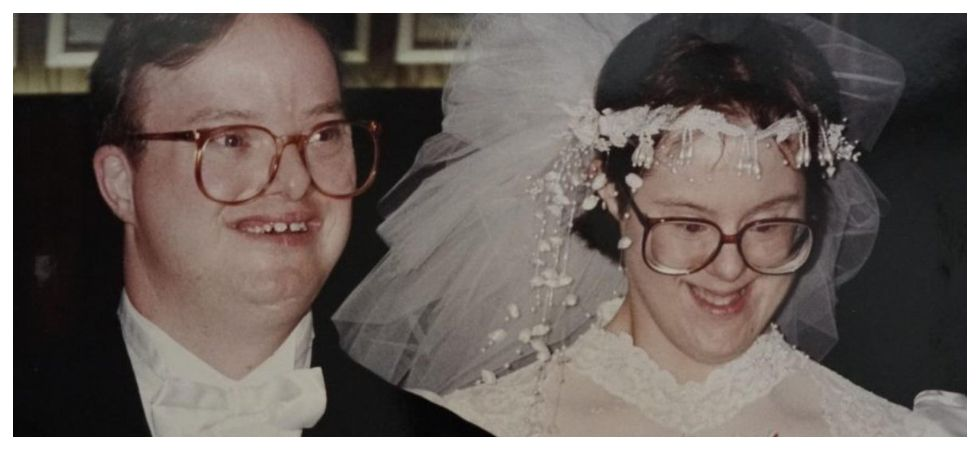Husband in world's 'longest down syndrome marriage' passes away (Photo: Twitter)