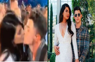 WATCH: Priyanka Chopra and Nick Jonas lock lips during Billboard Music Awards 2019