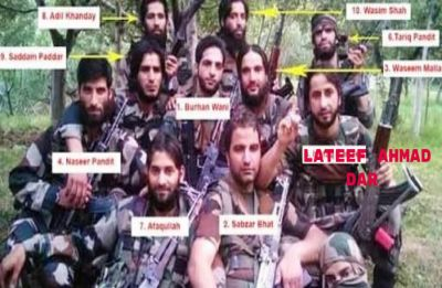 Burhan Wani gang wiped out: The last of 12 identified as Lateef Ahmad Dar eliminated in Kashmir