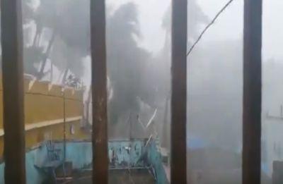 Watch THE moment when Cyclone Fani made powerful landfall at Odisha's Puri