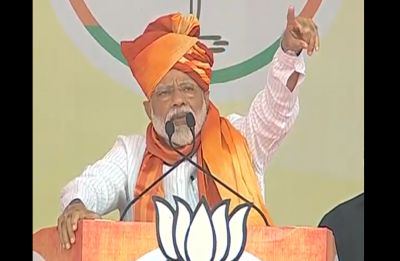 LS Polls   Congress couldn't stop India's share of river water flowing to Pakistan: PM Modi