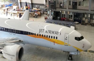 Employees' consortium representatives discuss Jet Airways bid with SBI Cap officials
