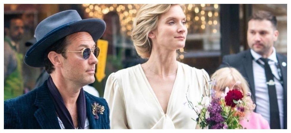 Jude Law marries Phillipa Coan (Photo: Instagram)