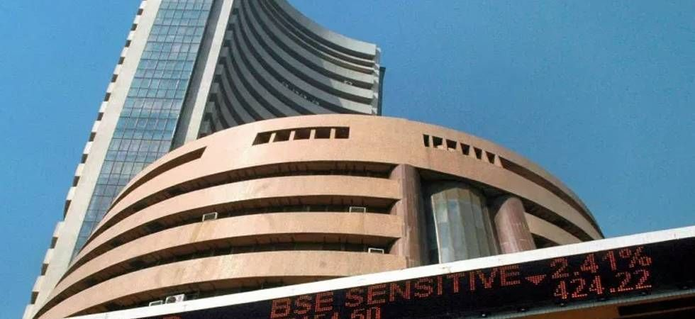 Sensex slips 18 points to end at 38,963 (file photo)
