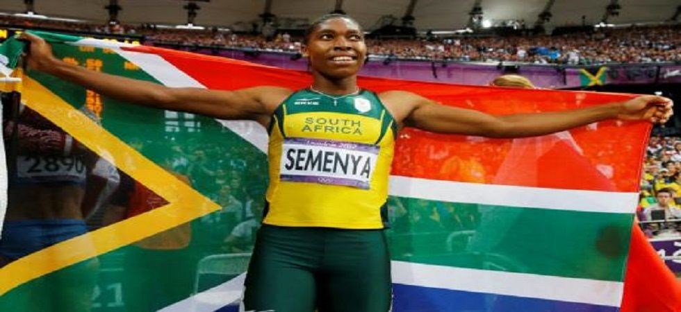 Caster Semenya has hinted that she could quit the sport after winning the 800m in the Doha Diamond League over the rules governing testosterone levels. (Image credit: Twitter)