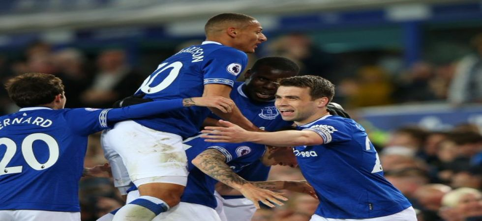 Everton secured their fourth straight win as they eyed a seventh spot in the Premier League and seal UEFA Europa League next season. (Image credit: Twitter)
