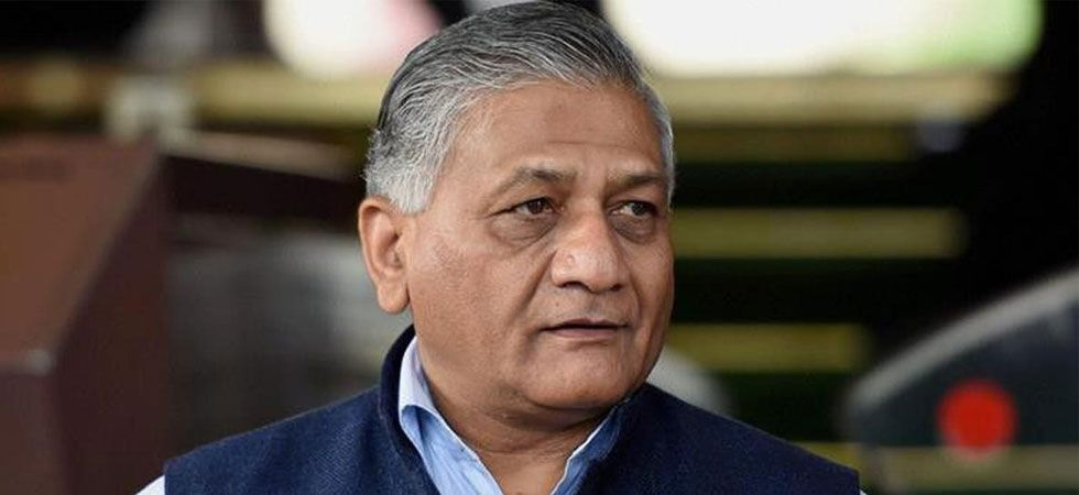 Former Army chief and Union Minister General (retd) VK Singh (PTI Photo)