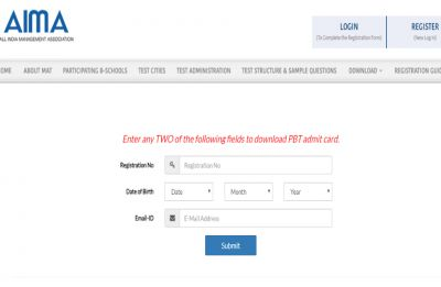AIMA MAT Admit card 2019 released, here's how to download