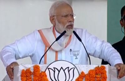PM Modi tears into Rahul Gandhi, says his father's life ended as 'corrupt No. 1'