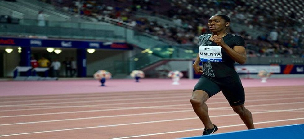 Caster Semenya is the current 800m Olympic champion and recently won the Doha Diamond League. (Image credit: IAAF Twitter)