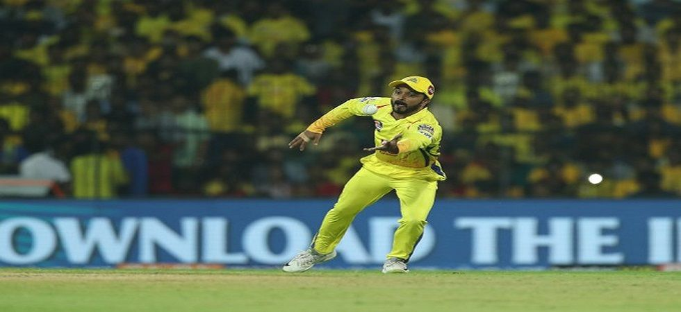 Kedar Jadhav has been ruled out of the playoffs for IPL 2019 after suffering a left shoulder injury for Chennai Super Kings in the game against Kings XI Punjab. (Image credit: Twitter)