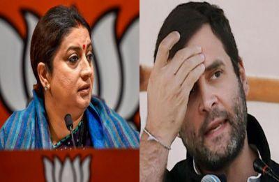 Congress President Rahul Gandhi ensuring booth capturing in Amethi, alleges Smriti Irani