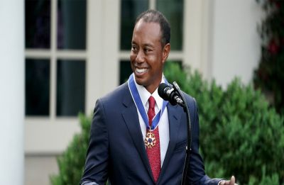 Tiger Woods awarded Presidential Medal of Freedom, highest US civilian honour, by Trump