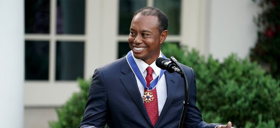Tiger Woods awarded Presidential Medal of Freedom