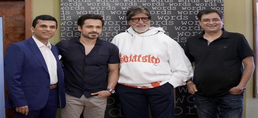 Amitabh Bachchan and Emraan Hashmi.