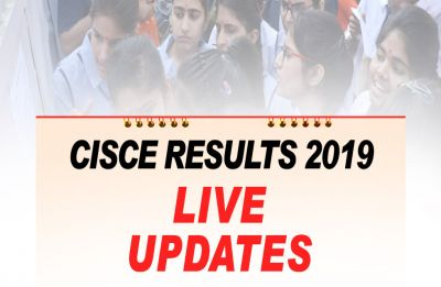 ICSE, ISC Result 2019: CISCE declares class 10th, 12th result at cisce.org