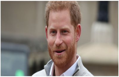 WATCH   Excited new dad Prince Harry thanks 'HORSES' after birth of Baby Sussex