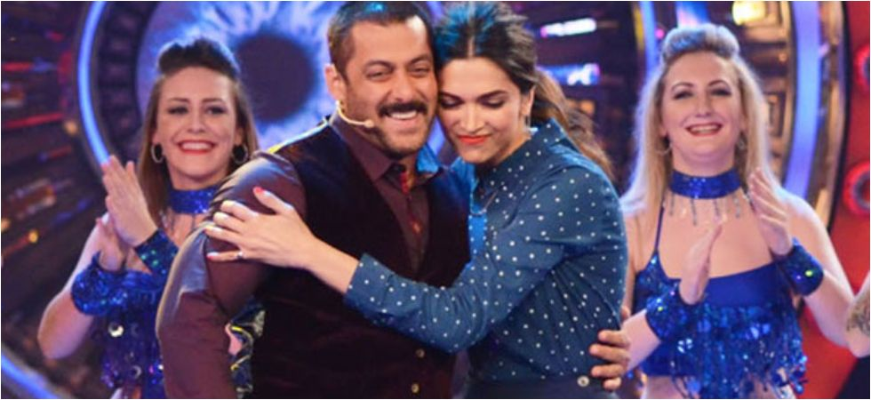 Salman Khan and Deepika Padukone.