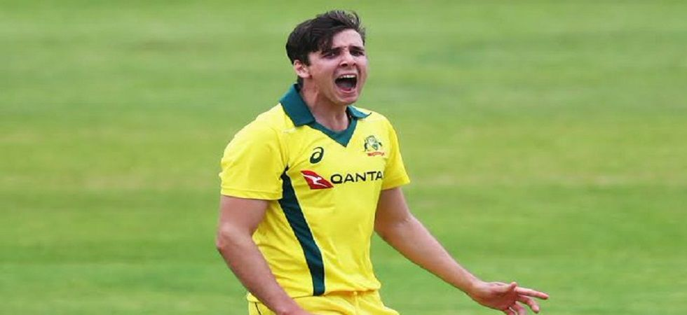 Jhye Richardson has not recovered from a left shoulder injury which he sustained in the series against Pakistan in March. (Image credit: Twitter)