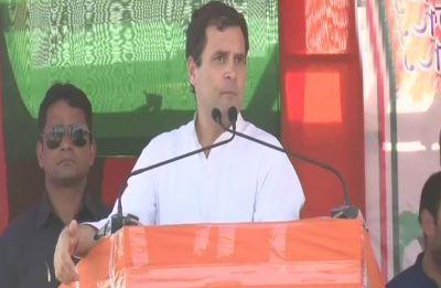 Youths, labourers coined 'Chowkidar chor hai' slogan: Rahul Ganhi
