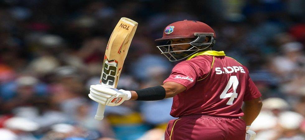 Shai Hope struck 109 runs off 132 balls against Bangladesh (Image Credit: Twitter)