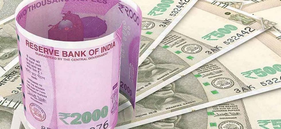 The rupee opened weak at 69.57 at the interbank forex market and then fell further to 69.64, down 21 paise over its last close