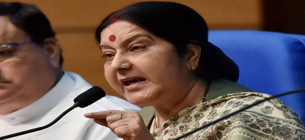 Union Minister of External Affairs Sushma Swaraj (File Photo)