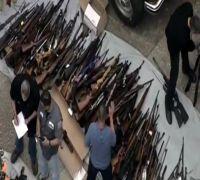 More than 1,000 handguns, rifles seized in Los Angeles raid: Law enforcement authorities