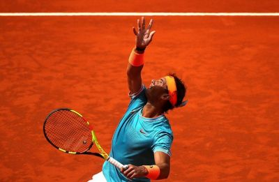 Rafael Nadal progresses in Madrid Open, David Ferrer retires