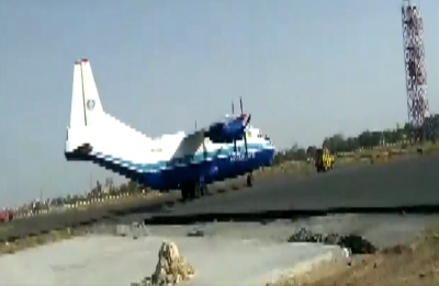 VIDEO | IAF jets force cargo plane from Pakistan to land at Jaipur airport, pilots being questioned