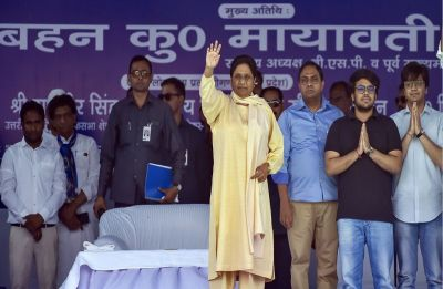 At Delhi rally, Mayawati takes a dig at PM Modi, says BJP's 'theatrics and rhetoric' won't work in Lok Sabha polls