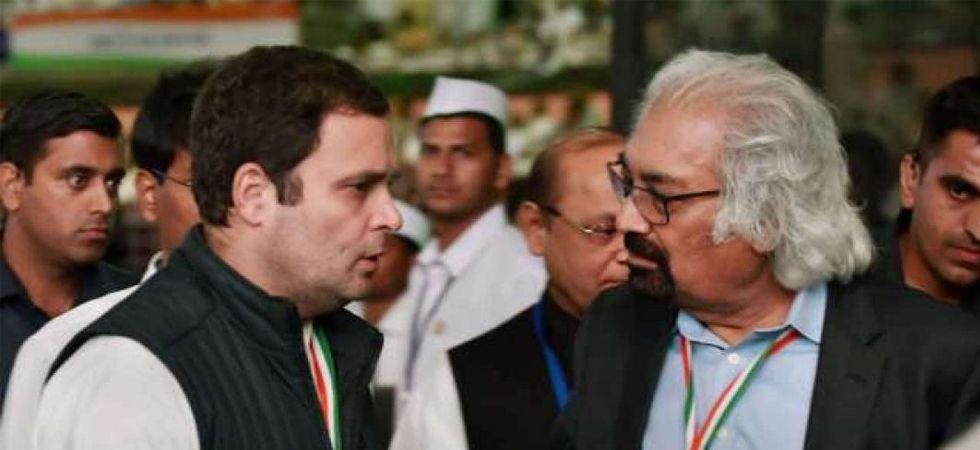 Sam Pitroda and Rahul Gandhi (File Photo)