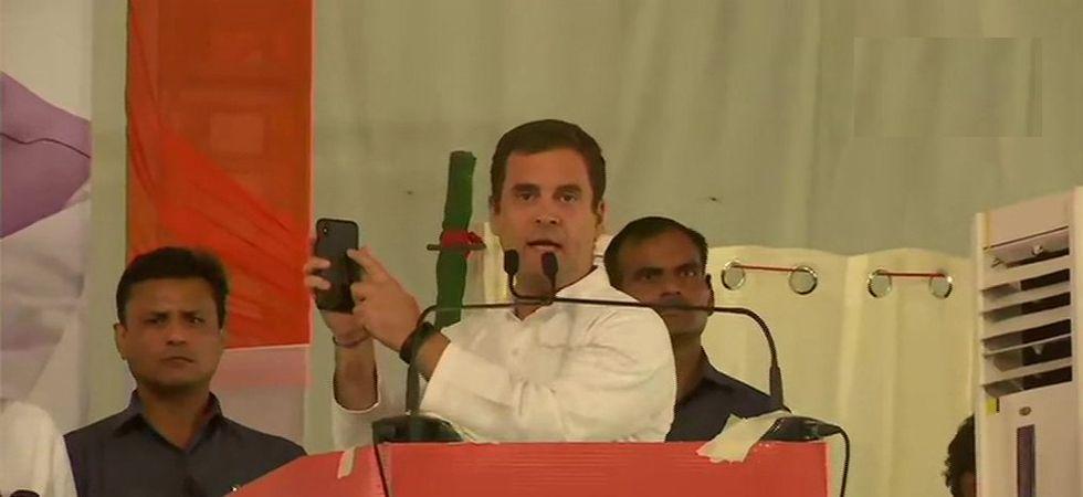 Congress president Rahul Gandhi in Chandigarh