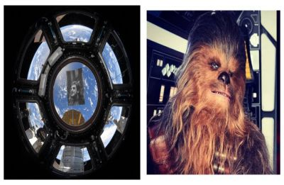 NASA astronaut pays sweet tribute to Chewbacca actor Peter Mayhew from space