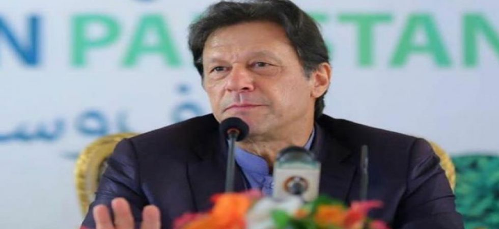Imran Khan asks people to bear with rising inflation (file photo)