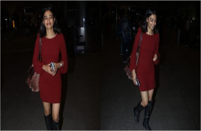 Stealing it all, Radhika Apte looks sexy as ever in a rustic dress!