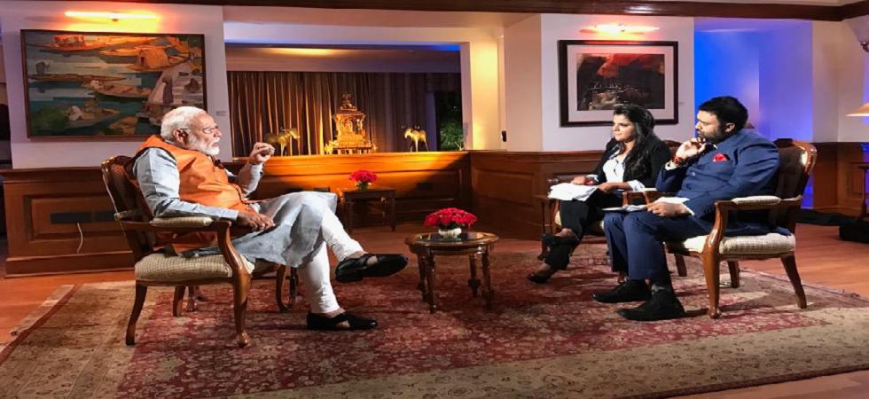 Prime Minister Narendra Modi's interview on News Nation.
