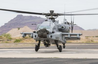 Indian Air Force gets its first Apache Guardian attack helicopter in US