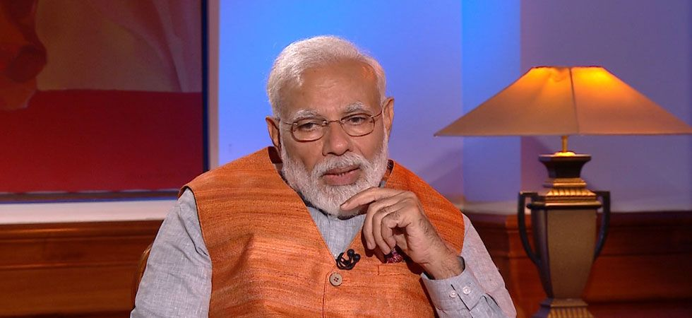 PM Modi said he never had anything to keep in the wallet and therefore never felt the need of keeping one. (Image Credit: News Nation))