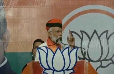 Dynasty can make you party chief, but it doesn't bring wisdom: Modi's dig at Rahul