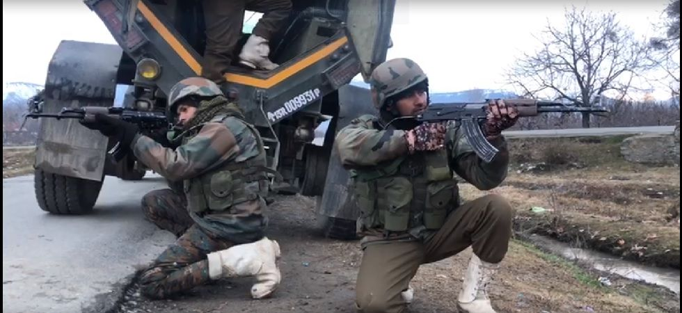 As the forces were conducting the search operations, the terrorists fired upon them, which led to a gun battle in which the two terrorists were killed. (File photo)