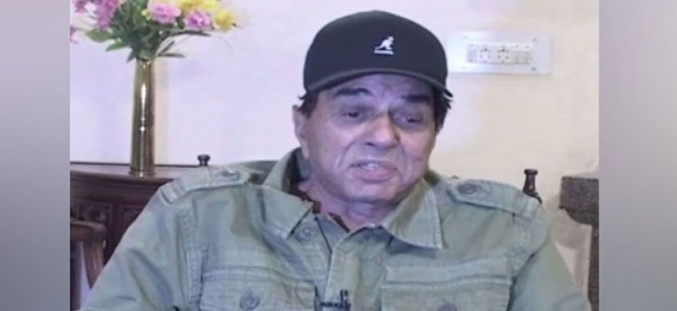 Dharmendra said this while he was seeking people's support for his son Sunny Deol. (File Photo: ANI)
