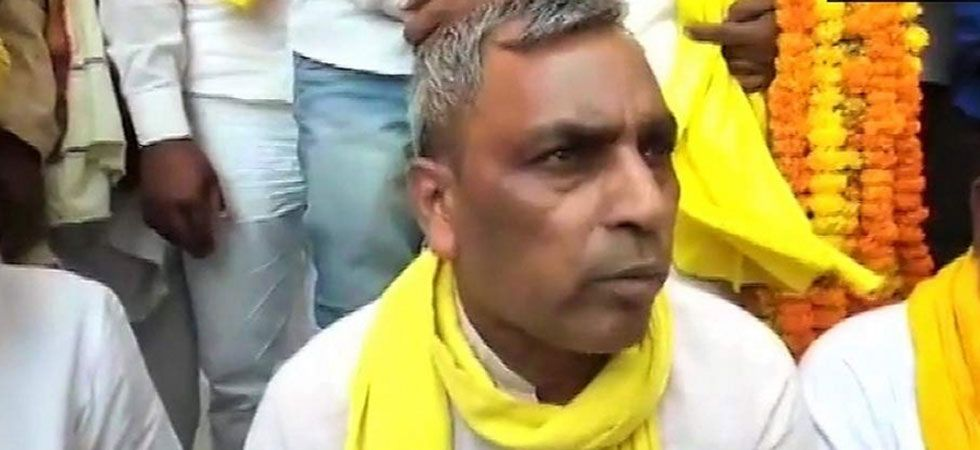 SBSP chief Omprakash Rajbhar has claimed the SP-BSP-RLD alliance will win more seats than BJP in the state. (File Photo: ANI)