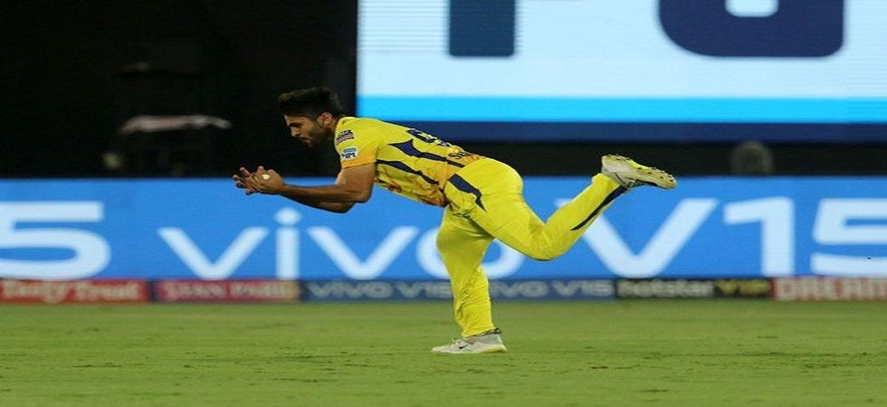 Shardul Thakur was trapped LBW on the final ball of the IPL 2019 final by Lasith Malinga as Chennai Super Kings lost by one run to Mumbai Indians. (Image credit: Twitter)